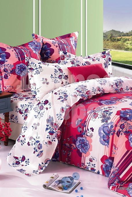 Постельное белье Ляма (сатин) (1,5 спальный) постельное белье любимый мишка сатин 1 5 спальный