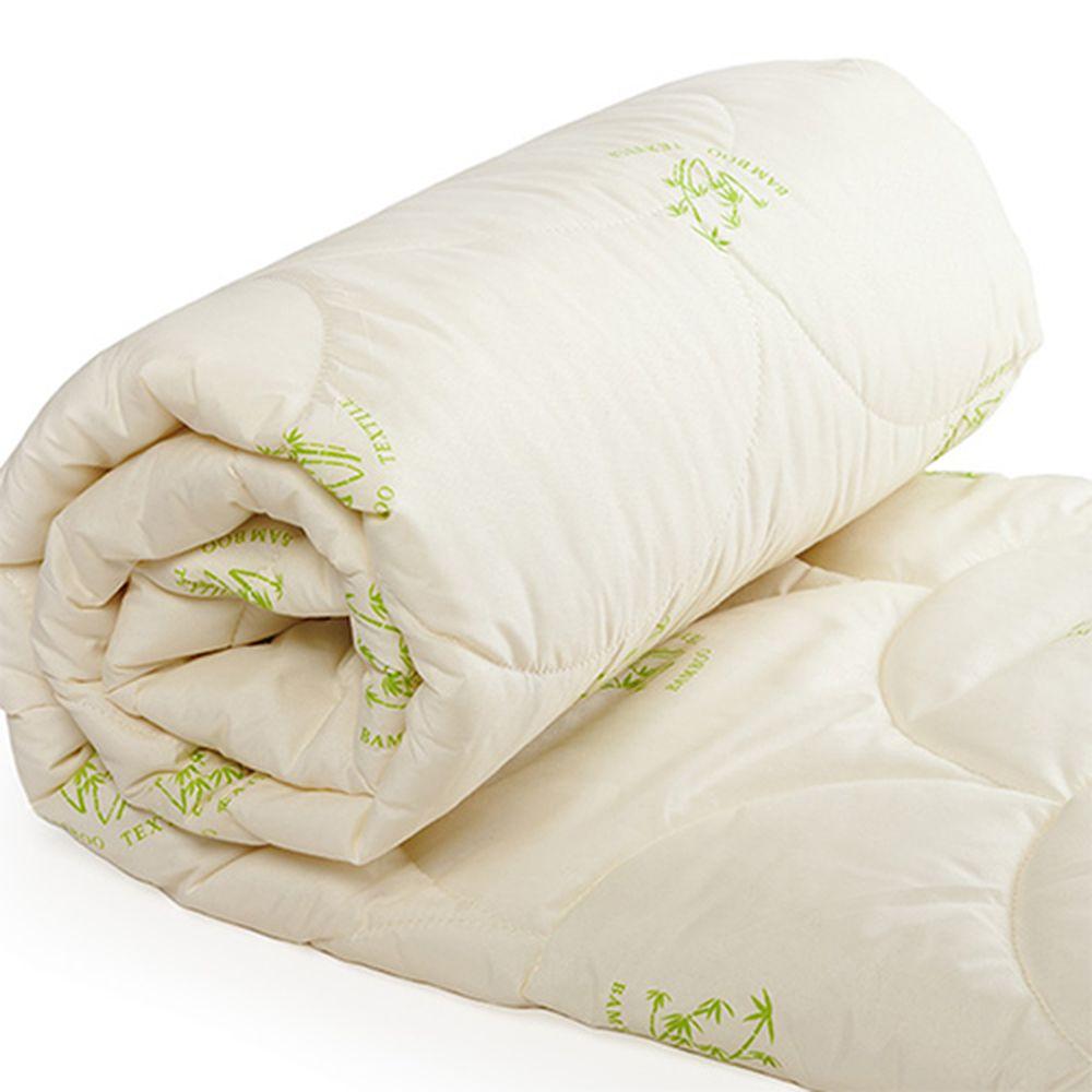"""Одеяло облегченное """"Бамбук"""" (бамбук, полиэстер) Евро-1 (200*220)"""