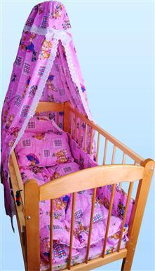 Набор в кроватку с одеялом и подушкой (бязь) от Грандсток