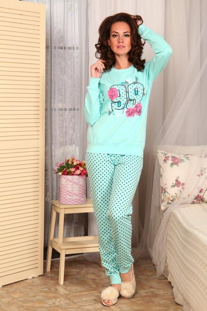 Пижама женская Минти