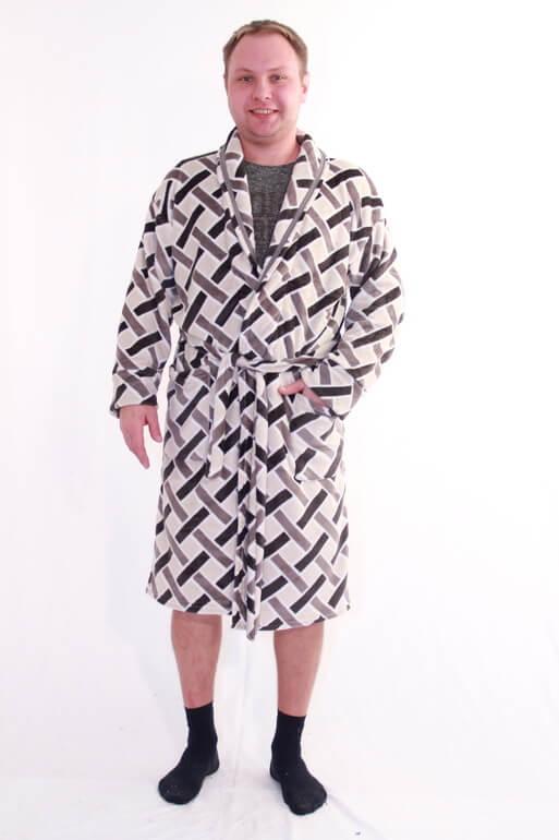 Халат мужской #Дмитрий#, Размер: 56 - Халаты - Теплые халаты