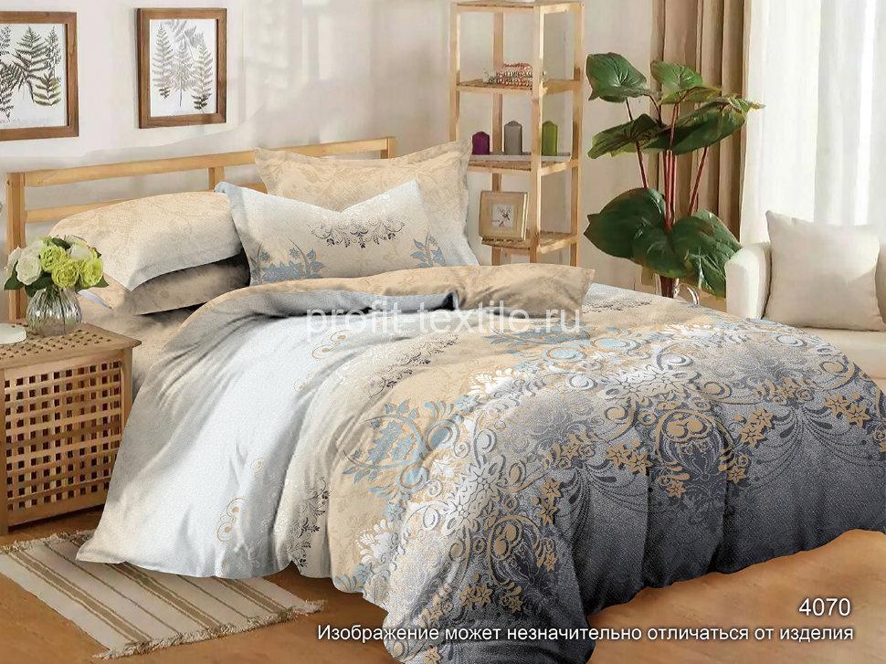 Постельное белье Ovonavi-1686 (полисатин) (1,5 спальный) постельное белье iv68146 полисатин 1 5 спальный