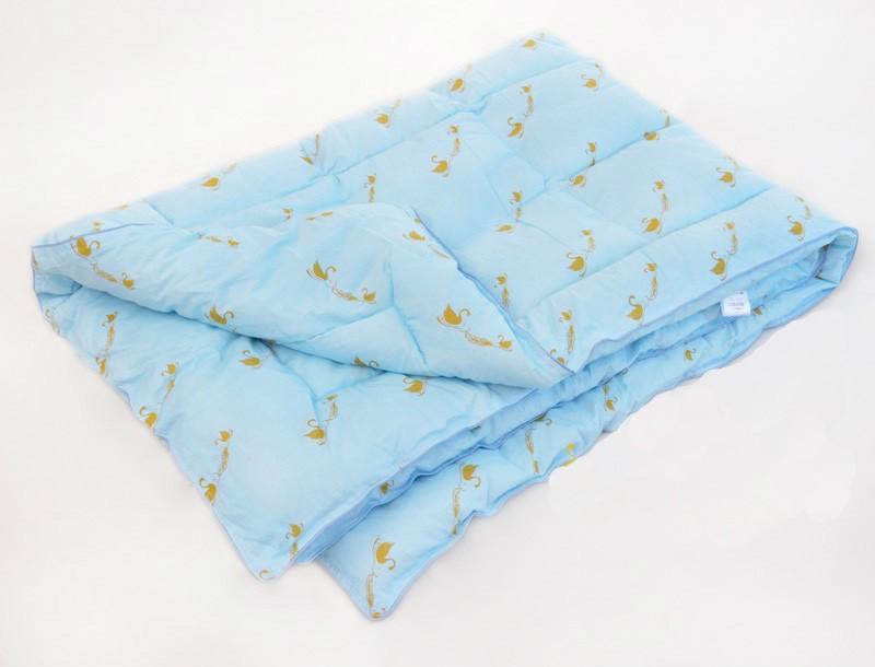 """цена Одеяло зимнее """"Зефир"""" (лебяжий пух, сатин) (1,5 спальный (140*205)) онлайн в 2017 году"""