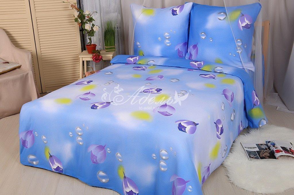 Фото - Постельное белье Капля росы (сатин) (2 спальный) постельное белье тифани сатин 1 5 спальный