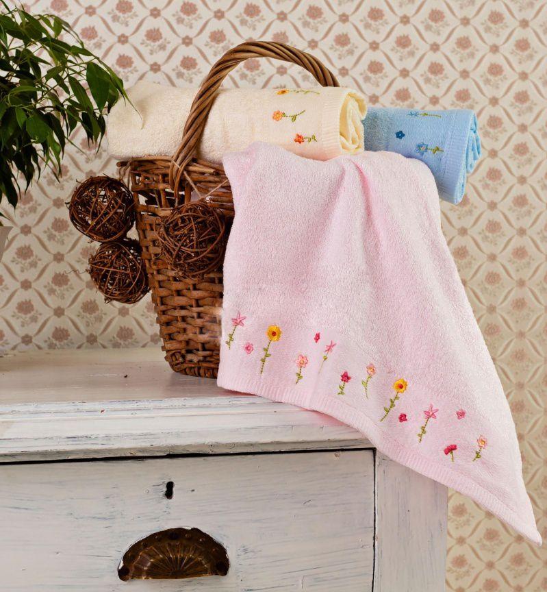 Бамбуковое полотенце Весеннее настроение (50х90) цена