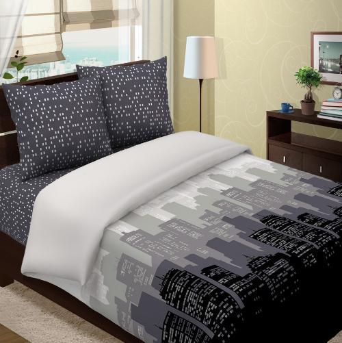 """Постельное белье """"Городок"""" (бязь) (2 спальный) постельное белье кпб mo 10 2 спальный 968967"""