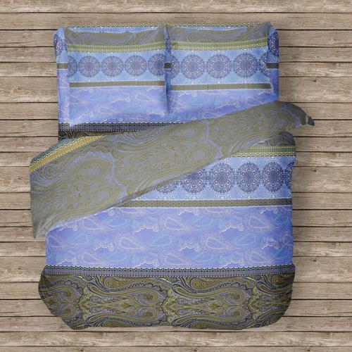 Постельное белье Синее настроение (бязь) (1,5 спальный)