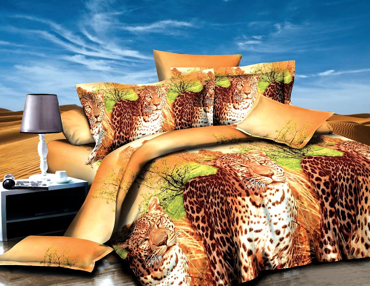 Постельное белье iv50542 (полисатин) (1,5 спальный) постельное белье король лев 3d полисатин