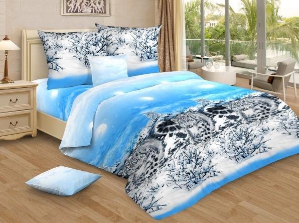 Постельное белье Снежный тигр (бязь) (1,5 спальный) постельное белье аманда лен 1 5 спальный