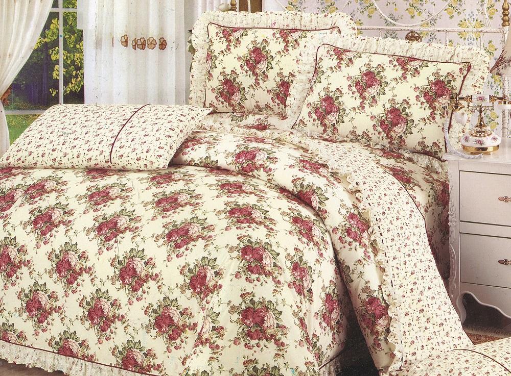 Постельное белье iv29535 (поплин) (1,5 спальный) постельное белье iv54872 поплин 1 5 спальный