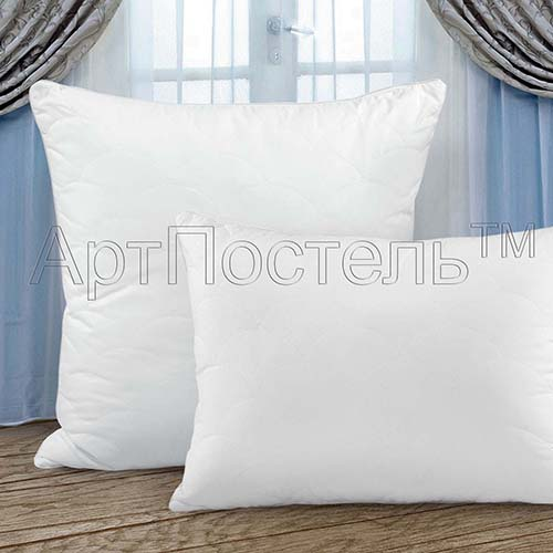 Подушка Лебяжий пух (лебяжий пух, микрофибра) (50*70) подушки пиллоу подушка лебяжий пух 70х70