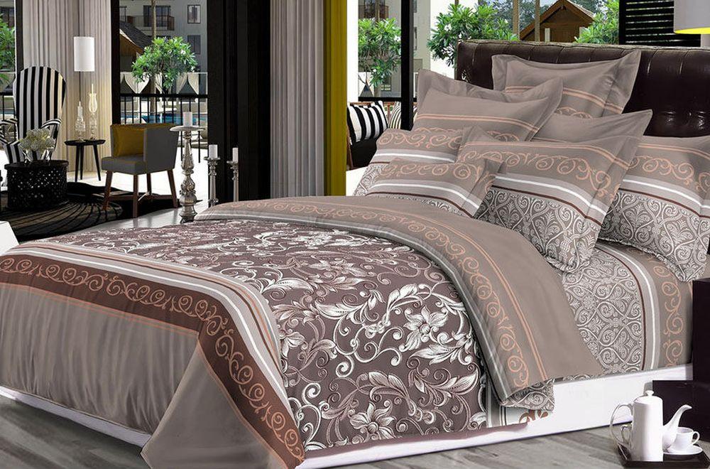 """Постельное белье """"Амалия"""" (сатин) (2 спальный) постельное белье estro c52 комплект 2 спальный сатин"""