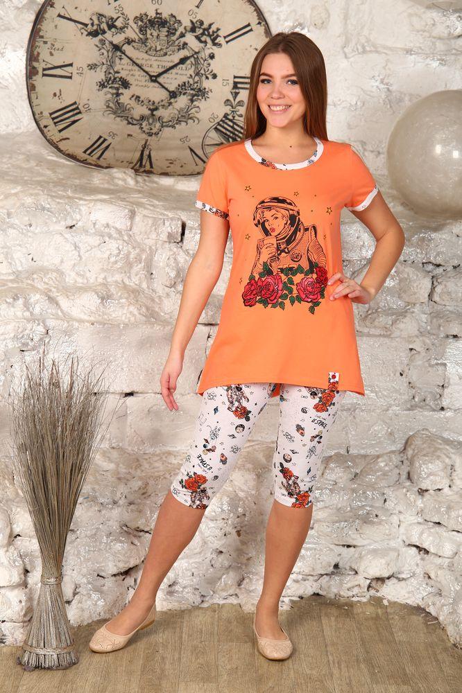 Костюм женский #Дучесс#, Размер: 48 - Костюмы - Летние костюмы