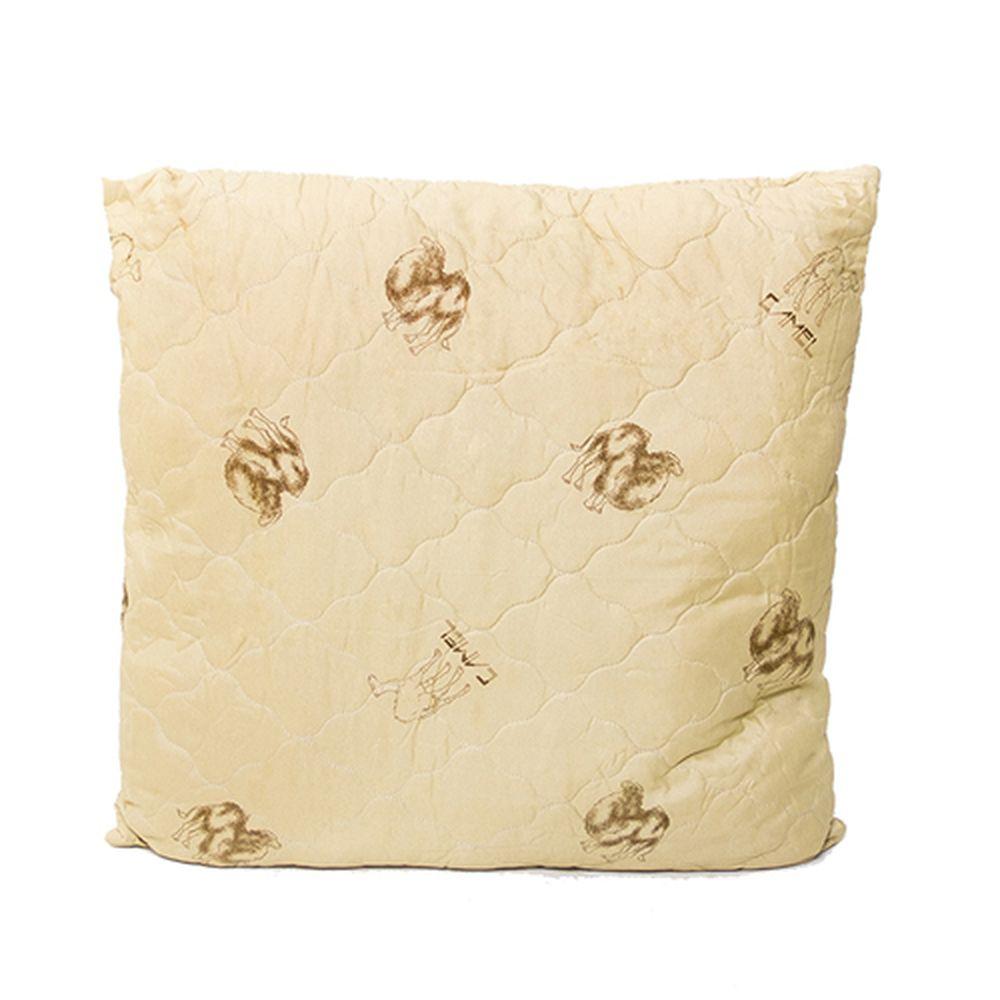 Подушка Стандарт (верблюжья шерсть, полиэстер) (50*70) подушки sova and javoronok подушка 70 70 верблюжья шерсть
