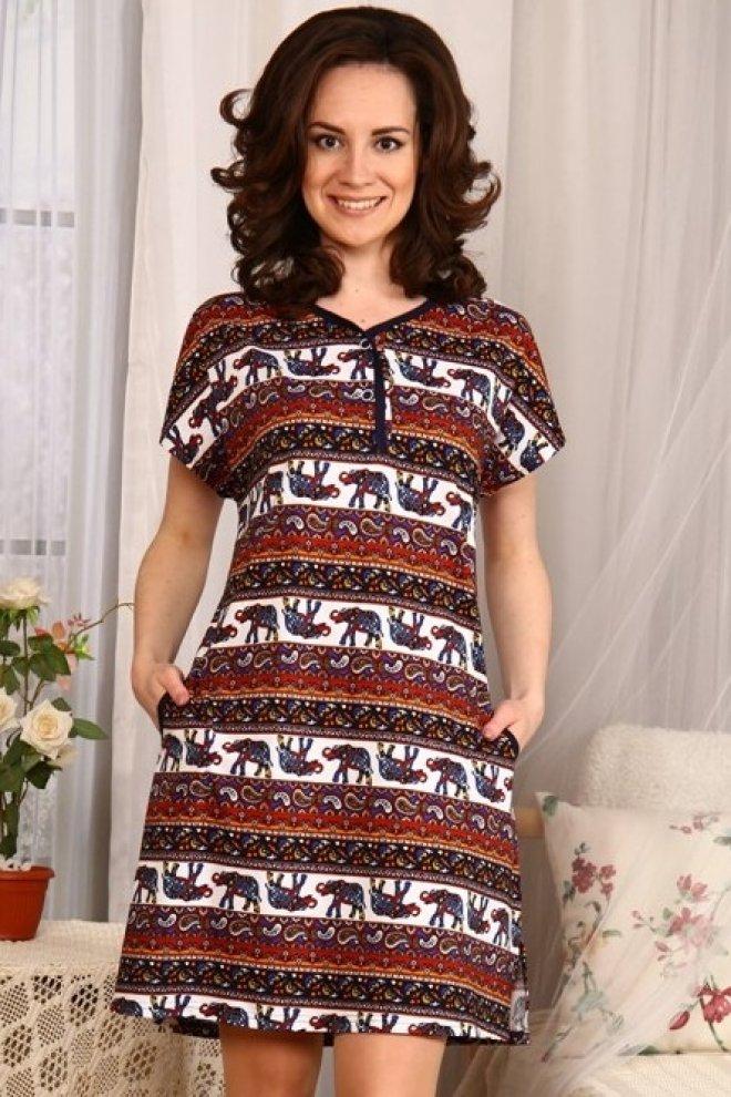 Туника женская #Ариент# 52, Размер: 52 - Платья и юбки - Туники