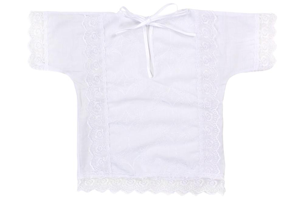"Рубашка крестильная ""Одуванчик"" (батист) от Грандсток"
