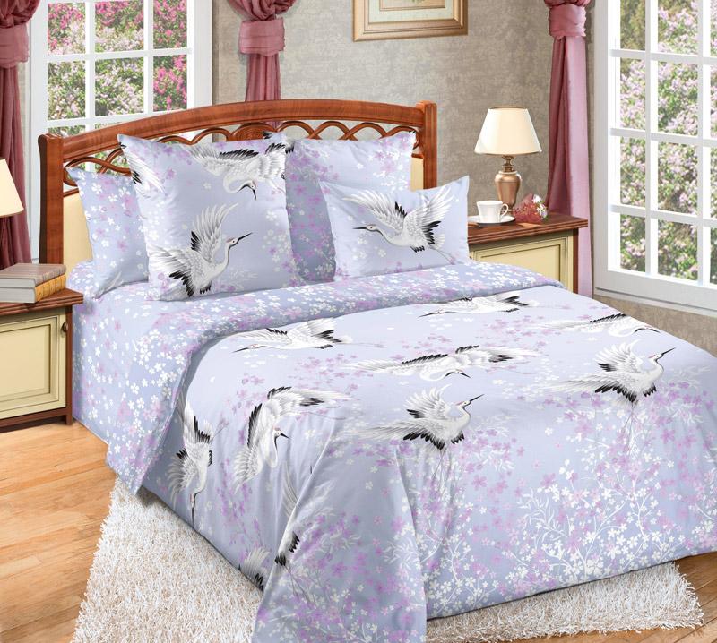 Постельное белье Журавлиный танец (бязь) (2 спальный) постельное белье генри бязь 2 спальный
