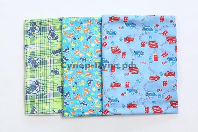Набор пеленок 90х120 (футер) (в упаковке 3 штуки) 90/120 от Грандсток