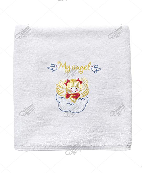 Крестильное полотенце для девочки Барбосса (70х140) платье крестильное иришка 24 26