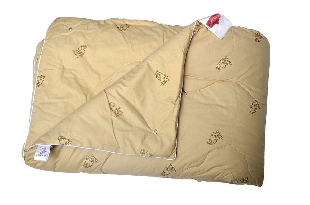 Одеяло 4 сезона (верблюжья шерсть, тик) (Детский (110*140)) одеяло летнее хорошие сны овечья шерсть тик детский 110 140