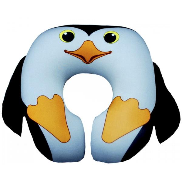 """Подушка под шею """"Пингвин"""" 35*35 от Grandstock"""