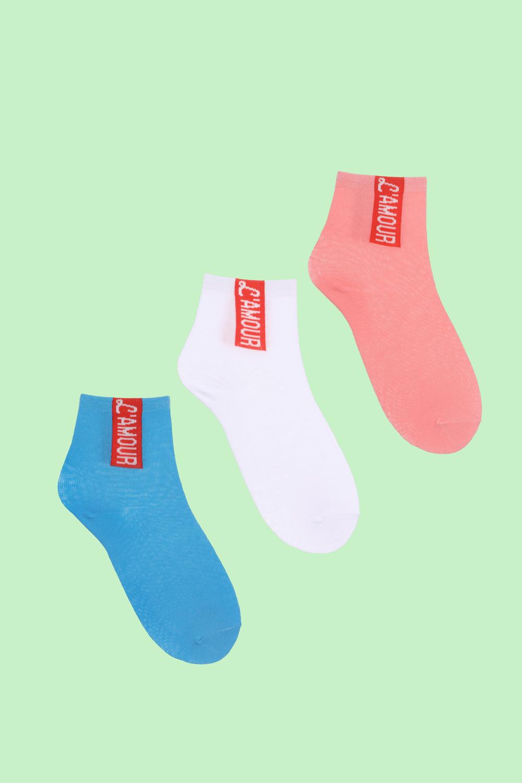 Носки детские iv50285 (упаковка 3 пары) (20-22)