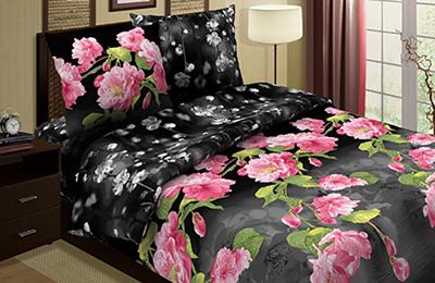 Постельное белье Южная ночь (поплин) (1,5 спальный) эта южная ночь
