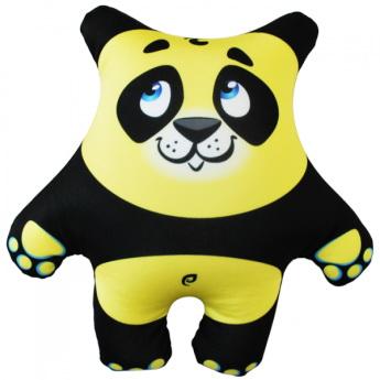 "Антистрессовая игрушка ""Панда желтая"" 27х26"