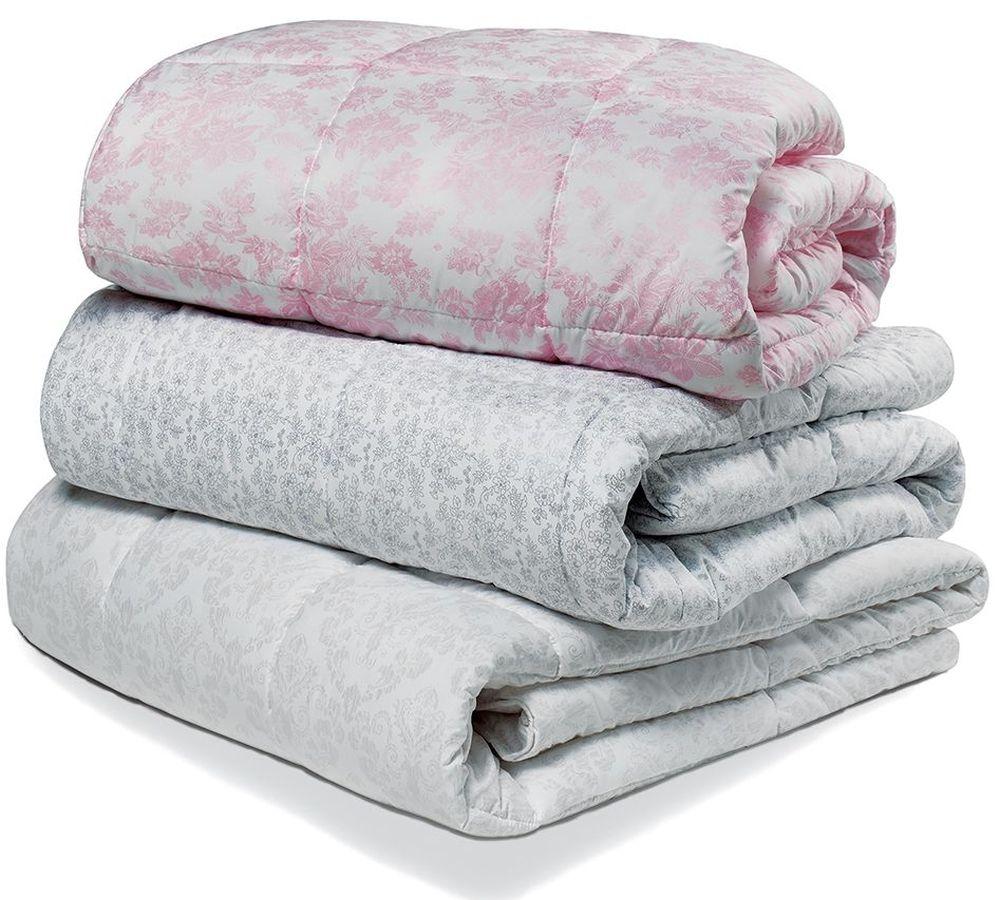 """Одеяло зимнее """"Зимушка"""" (лебяжий пух, микрофибра) (1,5 спальный (140*205)) одеяло зимнее """"луговые травы микрофибра 1 5 спальный 140 205"""