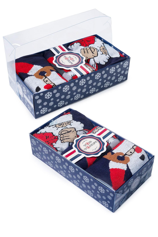 Носки детские Санта (упаковка 3 пары) (22-24) носки детские январь упаковка 3 пары
