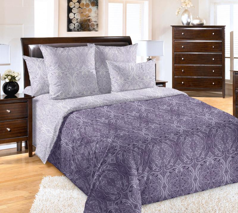 Постельное белье Перламутр фиолетовое (перкаль) (1,5 спальный) решетка для душевого лотка alcaplast line 1150l