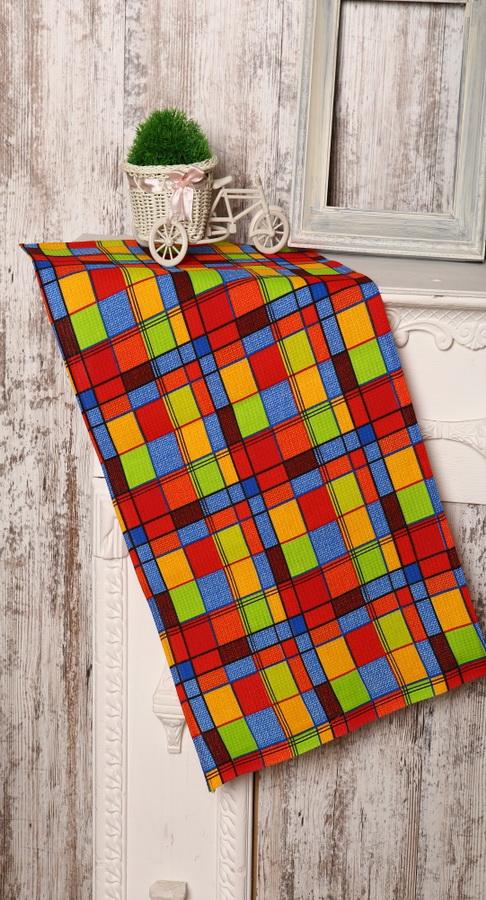 Кухонное полотенце Грандсток Клетка от Grandstock