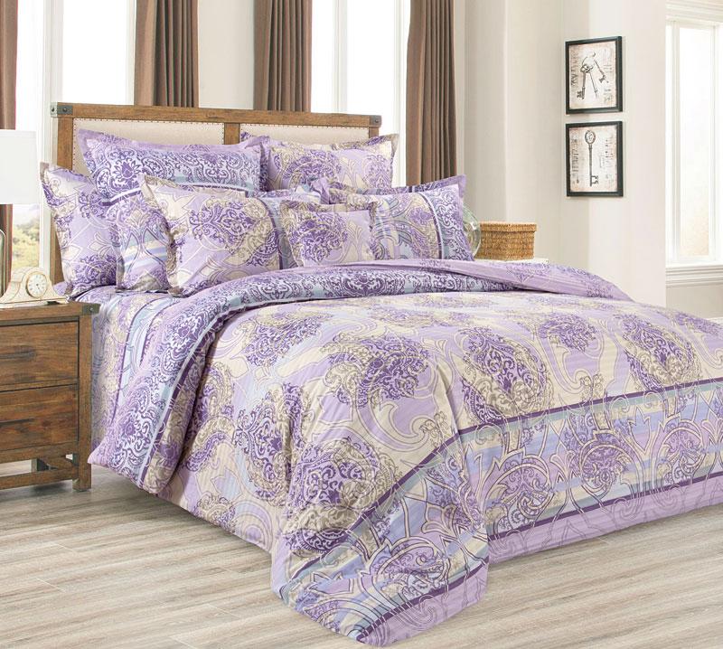 Постельное белье Анита (страйп-сатин) (1,5 спальный) постельное белье анита иваново