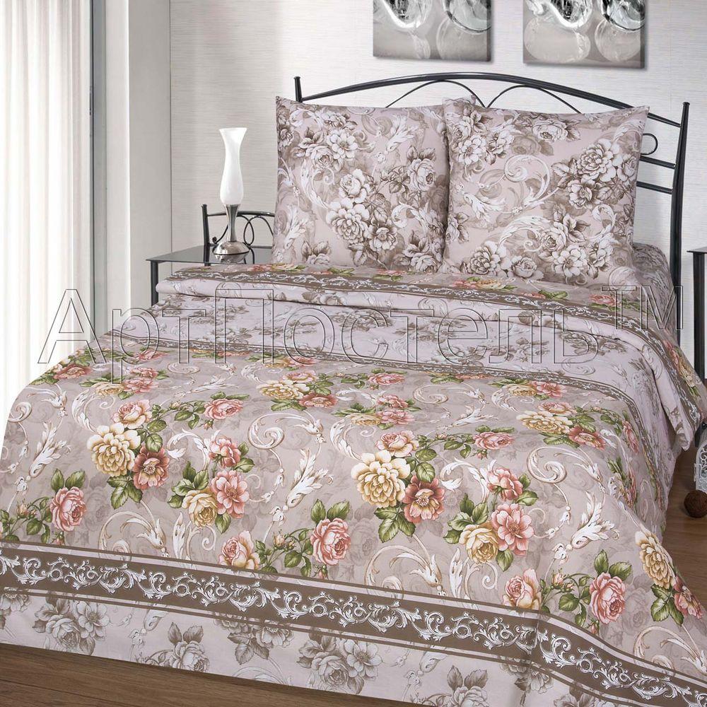 Постельное белье Желание (бязь) (2 спальный с Евро простынёй) постельное белье самойловский текстиль ноктюрн комплект евро бязь 714231