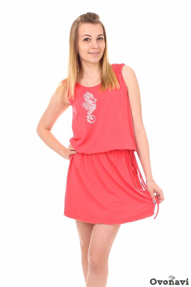 Платье женское Кристи (принт: морской конек) бриджи женские аклахома принт морской конек