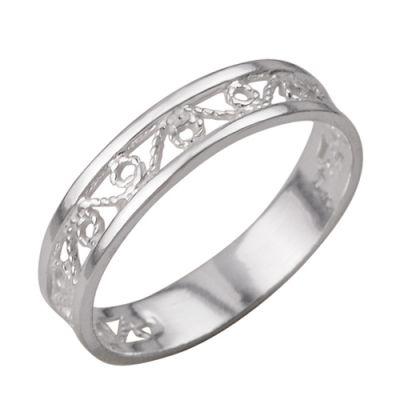 """Кольцо серебряное """"2301105б"""" 15.5"""