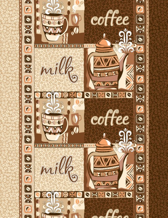 Полотенце кухонное Кофе (50х70) романтика кухонное полотенце розовый ноктюрн 50х70 см 2 шт