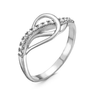 Кольцо серебряное 2388420Д кюп женское серебряное кольцо с куб цирконием alm3201002261 17