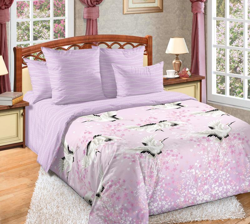 Фото - Постельное белье Журавлиный танец (сатин) (1,5 спальный) постельное белье тифани сатин 1 5 спальный