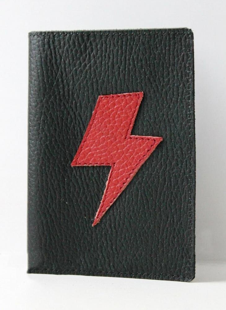 """Фото - Обложка на паспорт """"Молния"""" от Грандсток"""