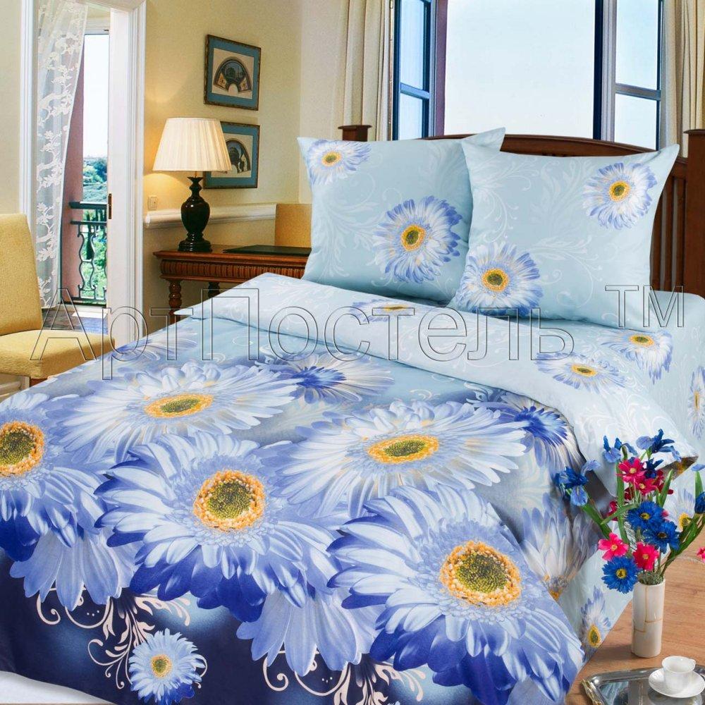 Постельное белье Агата (бязь) (1,5 спальный) постельное белье лазурит голубой бязь 1 5 спальный