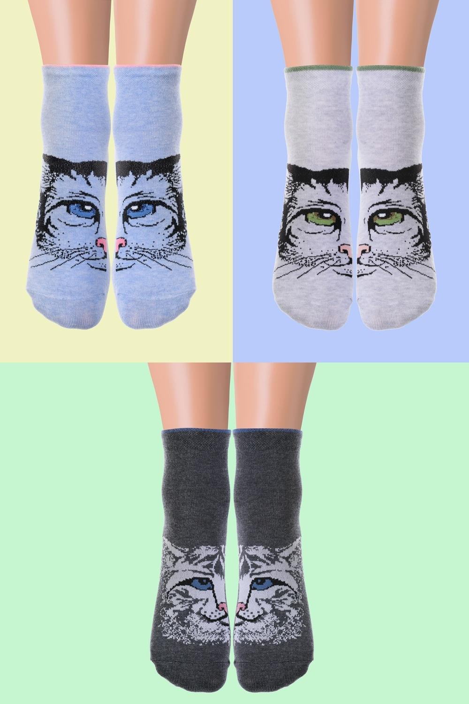 Носки детские Барс (упаковка 3 пары) (22-24) носки детские гранд цвет серый 2 пары tcl8 размер 22 24