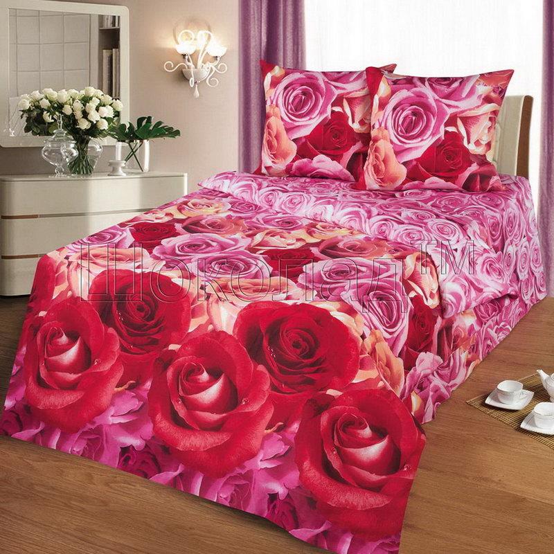 Постельное белье Флирт (бязь) (1,5 спальный) постельное белье жаркое лето бязь 1 5 спальный
