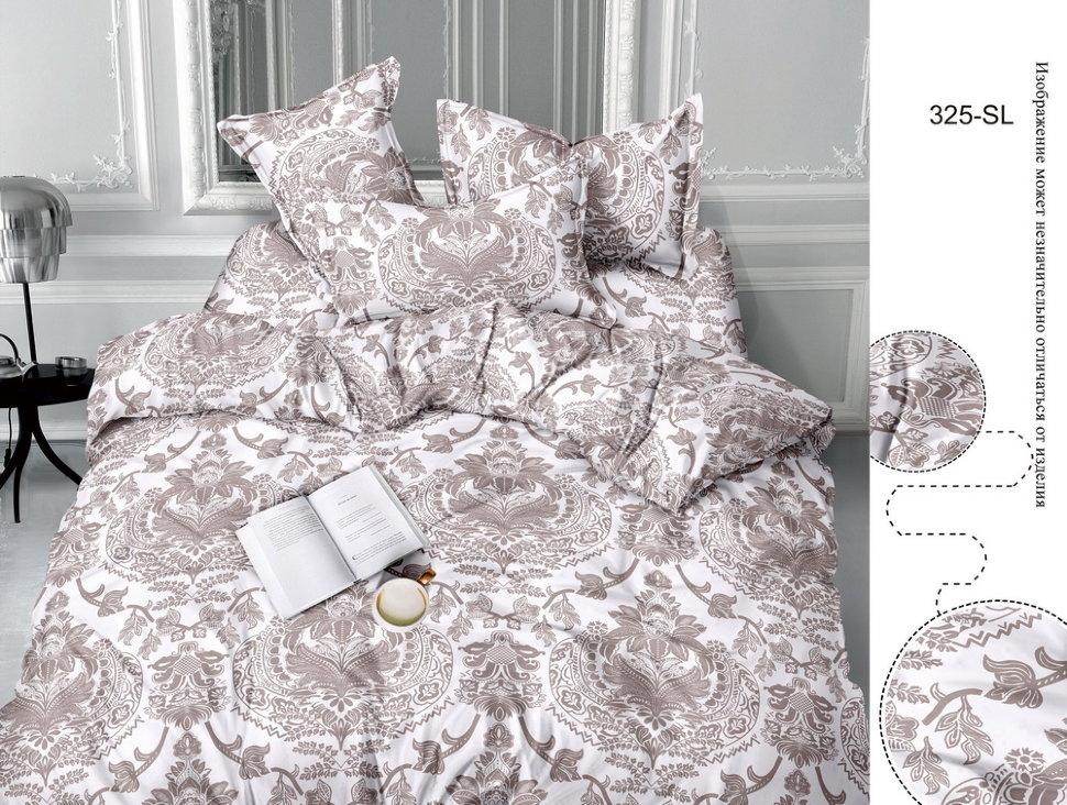 Постельное белье Алинка (сатин) (1,5 спальный) постельное белье cleo кпб сатин набивной люкс дизайн 315 1 5 спальный