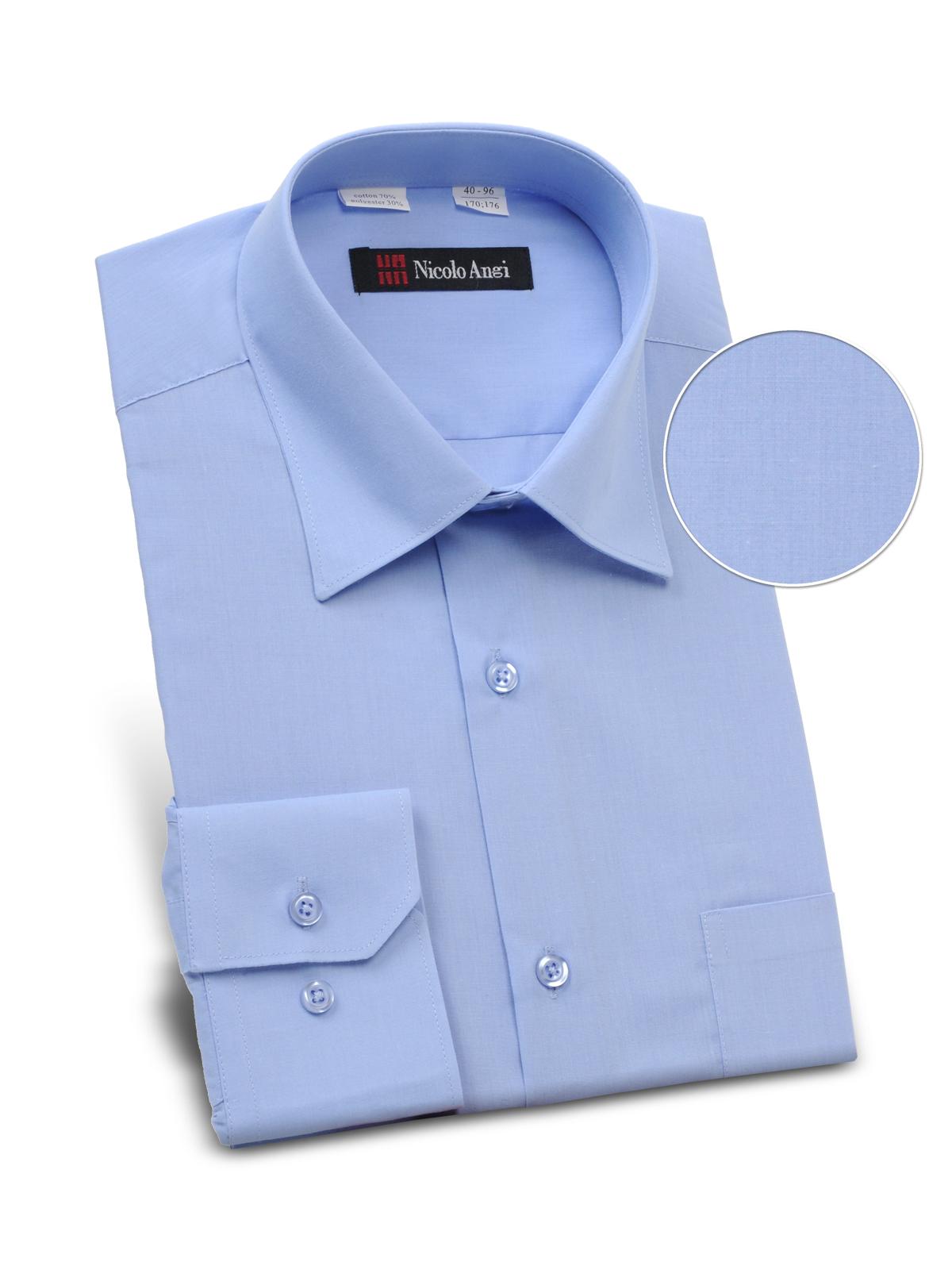 Рубашка мужская iv60705 (40 (рост 170-176)) костюм авангард спецодежда вулкан р 112 116 рост 170 176 53823