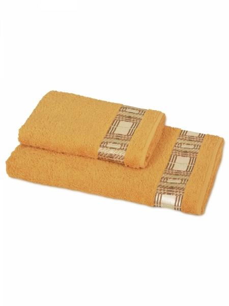 Полотенце махровое Кватро (желтое) (50х90) полотенца philippus полотенце laura 50х90 см 6 шт