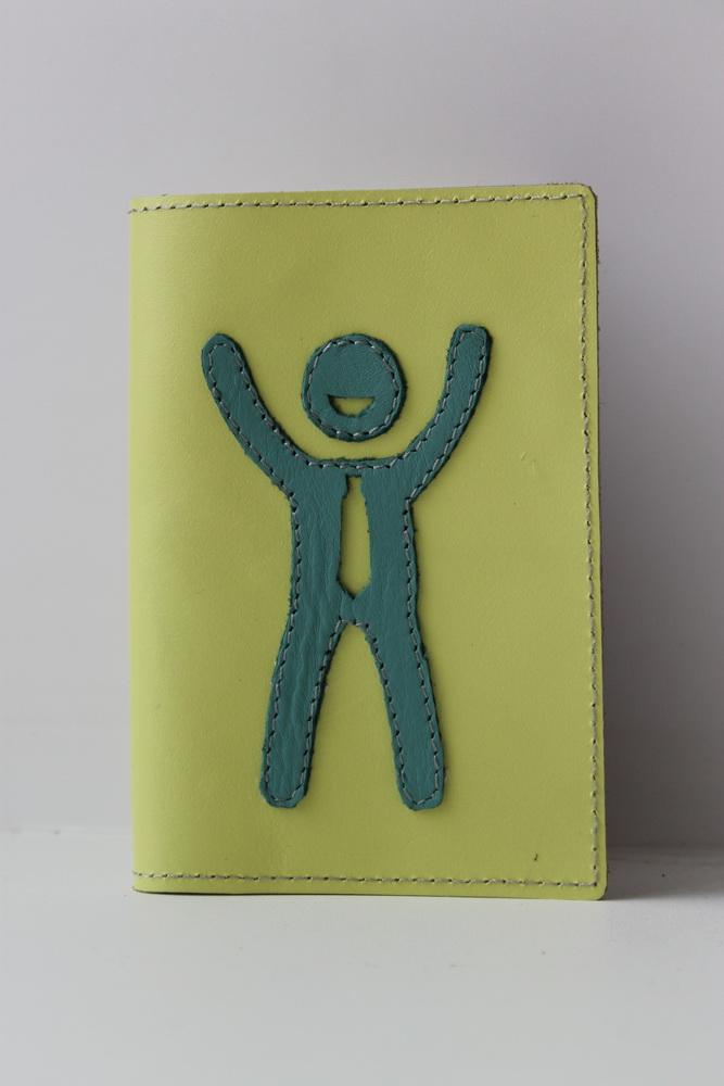 """Обложка для паспорта """"Человек"""" от Грандсток"""