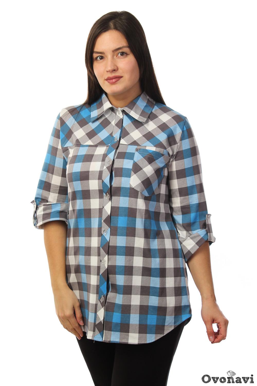 Купить Рубашка женская Сьюзи 46, Грандсток