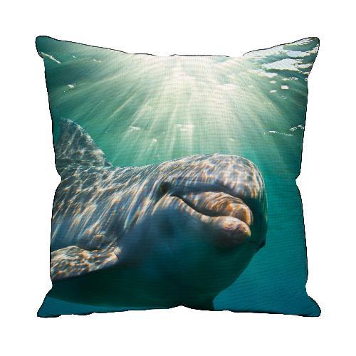 Подушка декоративная Дельфин (40*40) подушка декоративная праздник 40 40