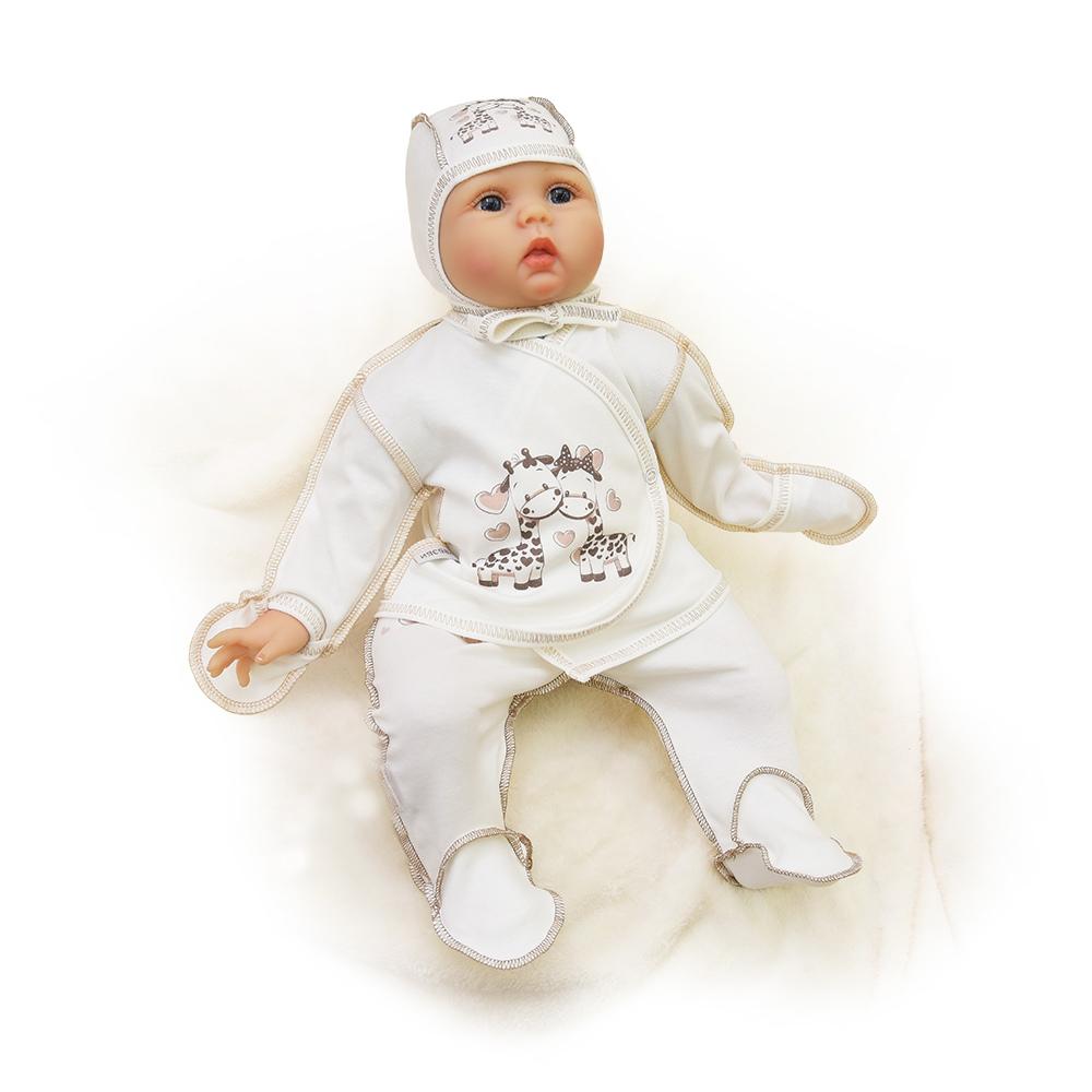 Распашонка Жирафик ldcx детские игрушки 1322